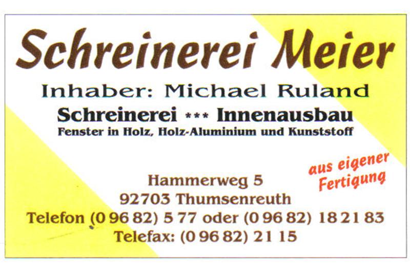Schreinerei Meier